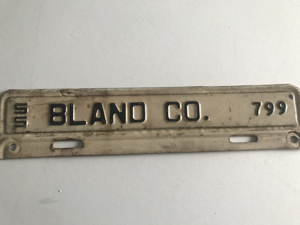 Picture of 1955 Virginia Bland Co. Strip #799