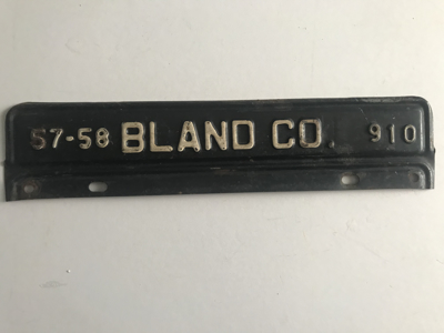 Picture of 1957-58 Virginia Bland Co. Strip #910