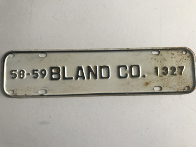 Picture of 1958-59 Virginia Bland Co. Strip #1327