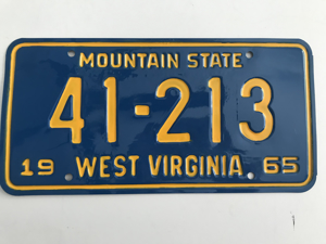 Picture of 1965 West Virginia #41-213