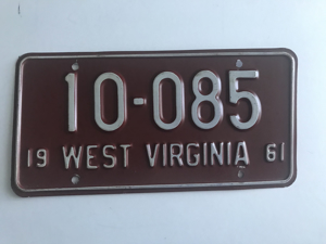 Picture of 1961 West Virginia #10-085