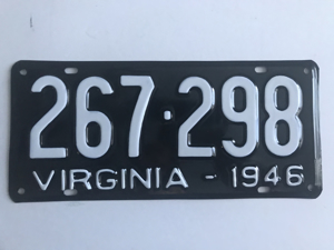 Picture of 1946 Virginia Car #267-298