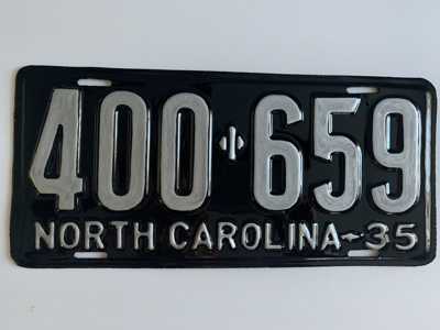 Picture of 1935 North Carolina Car #400-659