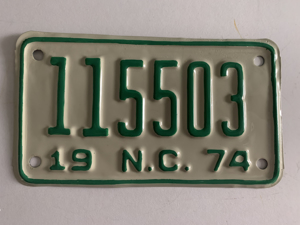 Picture of 1974 North Carolina Motorcycle #115503
