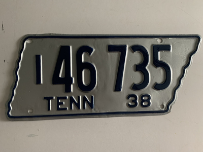 Picture of 1938 Tennessee #I 46-735