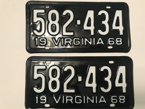 Picture of 1968 Virginia Car Pair #582-434