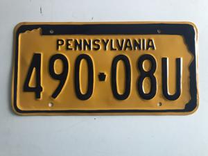 Picture of 1965-71 Pennsylvania #490-08U