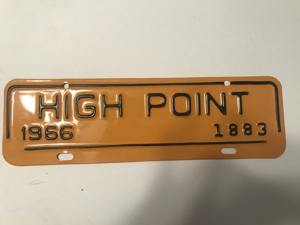 Picture of 1966 High Point strip