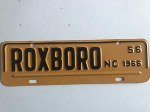 Picture of 1966 Roxboro strip