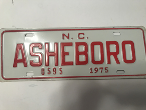 Picture of 1975 Ashboro NC strip