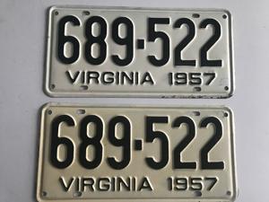 Picture of 1957 Virginia Car Pair #689-522