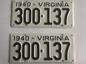 Picture of 1940 Virginia Car Pair #300-137