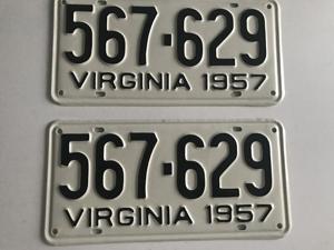 Picture of 1957 Virginia Car Pair #567-629