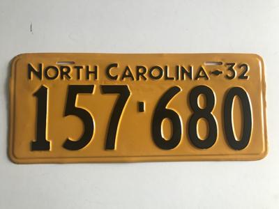 Picture of 1932 North Carolina Car #157-680