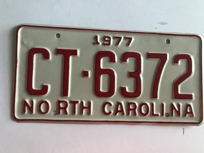 Picture of 1977 North Carolina #CT-6372